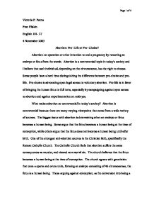abortion essay pro choice co abortion essay pro choice