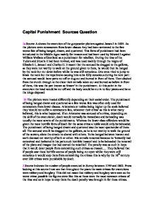 capital punishment essay questions