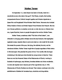 Essay About A Mother  Example Of A Good Thesis Statement For An Essay also Science Essays Topics  How To Write A Thesis For A Narrative Essay