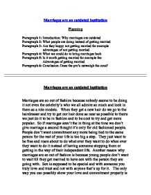 marriage family essay