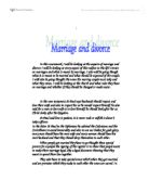 divorce is wrong essay Hi, i got this question in a re test in england and did ok on it but could someone give me a full answer to the question, so i.
