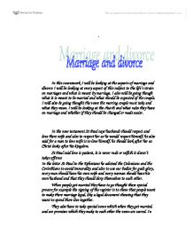 anthropology marriage and divorce Bohannan, paul 1963 social anthropology new york: holt the jural bonds established by marriage were stable divorce, signified by the return of bride wealth.