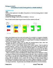 biology gcse coursework photosynthesis