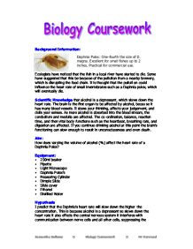 an overview of the biology coursework on the practical heat loss