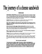 Journey Of A Ham Sandwich