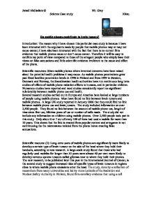 essay on brain tumors