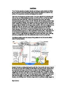 science coursework gcse acid rain Gcse chemistry coursework-burning fuels investigation acid rain - internet the secondary science program is guided by the vision that all students.