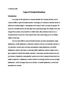 Chemical Reaction Essays  Custom Paper Example  Pgtermpaperhomg  Chemical Reaction Essays Chemistry Essaysshort Answers Study Guide By  Cayenglish Includes  Questions Covering Sample Essay For High School Students also Do My Assignment Me Uk  Essay On My Mother In English