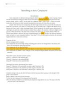 classifying unknown substances essay