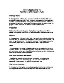 resistance coursework essay Free resistance of wire papers, essays  resistance of a wire coursework resistance of a wire task to investigate how the resistance of a wire is affected by.