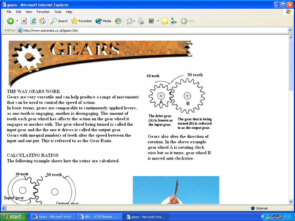 Calculating Gear ratio's  - GCSE Science - Marked by