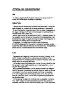 Pendulum Lab Essay Sample