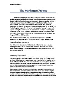 The Manhattan Project Essay