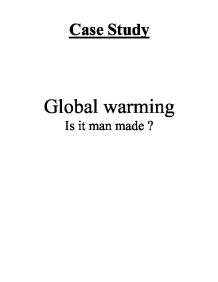 gcse science case study global warming Switching to aqa from ocr a and additional science  a case study and a practical data  p23 global warming.