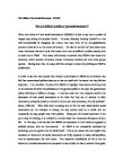 Sample College Admission Essays