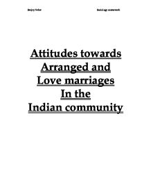 love marriage vs arranged marriage wikipedia