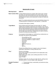 Marketing Mix For Apple  International Baccalaureate Business  Marketing Mix For Apple  International Baccalaureate Business Studies   Marked By Teacherscom Custom Essay Paper also Essay About Learning English  Research Essay Proposal Example