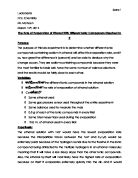 determining a substance by tritration essay