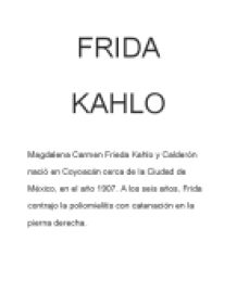 frida kahlo essay in spanish