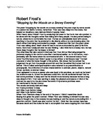 robert frosts dark side essay The dark side of robert frost's poetry pages 2 words 1,023 view full essay  sign up to view the rest of the essay read the full essay more essays like this.