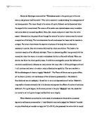 comparison essay on the road the outsider light and dark macbeth essay