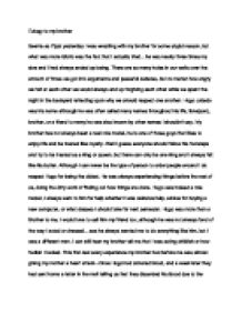 eulogy to my brother international baccalaureate languages  page 1 zoom in