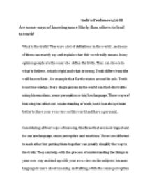 TOK essay - International Baccalaureate Theory of Knowledge ...