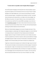 does language play roles of equal importance in different areas of knowledge essay