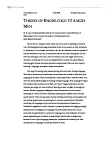 twelve angry men essay co twelve angry men essay