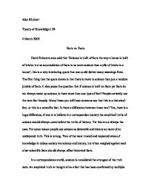 which passing college subjects science essays in english