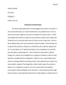 frankenstein commentary essay international baccalaureate world page 1 zoom in