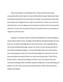 Starting A Business Essay Page  Zoom In Paper Vs Essay also The Newspaper Essay Cathedral And A Small Good Thing By Raymond Carver Both Clearly  English Language Essay Topics