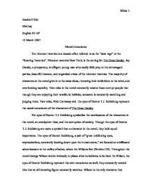 How To Write An Essay Proposal Page  Zoom In Essays About High School also Research Proposal Essay Moral Conscience In The Great Gatsby  International Baccalaureate  English Essay On Terrorism