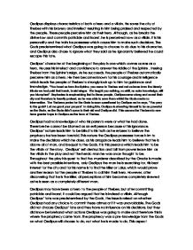 Literary analysis essay example oedipus the king