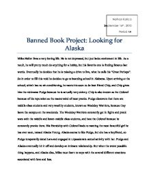 looking for alaska essay questions Looking for alaska project description the characters in looking for alaska grapple with two philosophical questions: 1 how will we ever get out of this labyrinth.