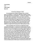 Othello dramatic irony essay