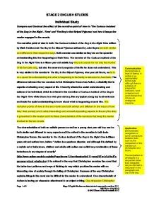 marked essay compare and contrast the effect of the narrative  page 1 zoom in