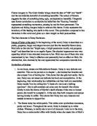 the sorrow of war essay