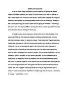 Gulf War Essay In The Two Novels Things Fall Apart By Chinua Achebe  Cultural Difference Essay also Essay Of Internet A Comperative Essay About The Gender Issues In Things Fall Apart  Argumentative Essay About