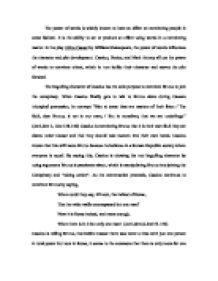 figurative language in julius caesar act 3