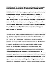 George Washington Essay Paper  Narrative Essay Example High School also Thesis Statements For Argumentative Essays Khaled Hosseinis The Kite Runner Portrays Many Issues Of  Thesis Example For Compare And Contrast Essay