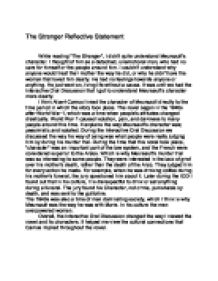 reflective statements on the stranger and the inhabited w  page 1 zoom in