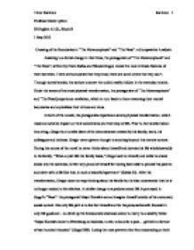 Example Of Thesis Statement For Argumentative Essay Writing From Literature Tips For Teaching The Analytical Essay By Adam  Andrews The Old Schoolhouse Magazine Essay On Health And Fitness also Business Essay Writing Service News Writing And Reporting  Now Classroom  Now Example Of An  English Class Essay