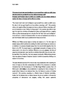 violence in the media essays Violence in the Media Essay - Digital ...