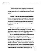 Capitalism essay