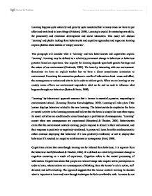 Vygotsky Theory of Cognitive Development
