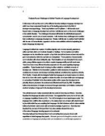 development psychology science essay