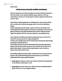 Analysis And Synthesis Essay Page  Zoom In The Yellow Wallpaper Character Analysis Essay also Student Life Essay In English This Essay Will Look At The Cognitive Explanation Of Gender And Its  Business Essay Examples