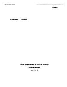 Sample Research Paper Lifespan Development