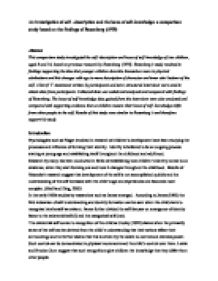 Self descriptive essay example